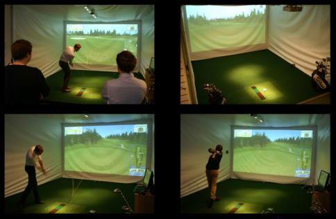 C&T installerar Sports Coach simulatorer hos Eurogolf