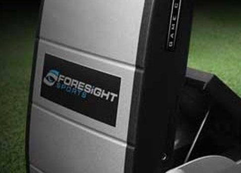 Begagnad Foresight Sports GC2-A med Apple Ipad stöd till salu (såld)