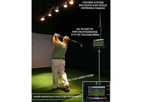 Ny Golf och Range träningssimulator från Sports Coach